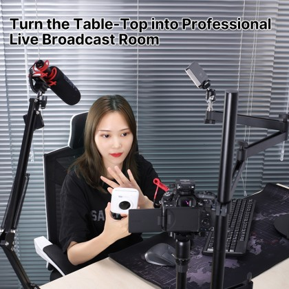 Table Top Universal Live Broadcast Stand