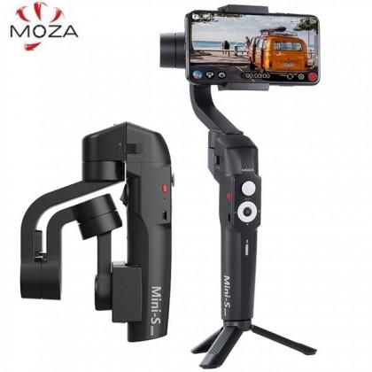 MOZA Mini-S Gimbal Vlog Kit & Boya Microphone For Iphone
