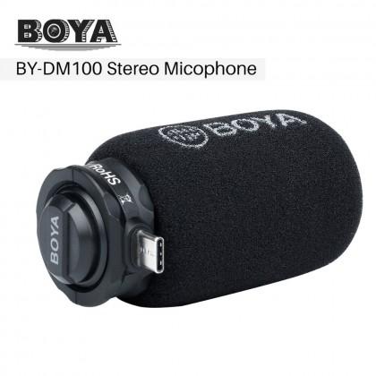 Moza Mini MX Gimbal Vlog Kit & Boya Microphone For Type C