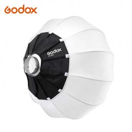 Godox CS-65D 65cm Lantern Softbox With Skirt Cover Foldable Quick-install Portable Round Shape Softbox Light for Bowens Mount Studio Flash