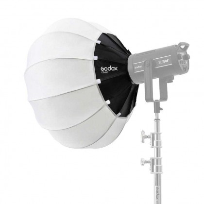 Godox CS-85D 85cm Lantern Softbox With Skirt Foldable Quick-install Portable Round Shape Softbox Light for Bowens Mount Studio Flash