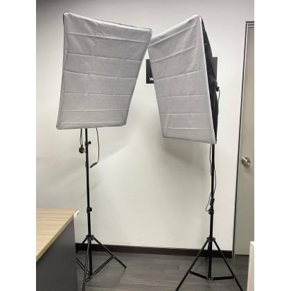 Studio In The Box Package Softbox Lighting Kit Videography Studio Camera Lighting LED Box Equipment Tripod Light Stand