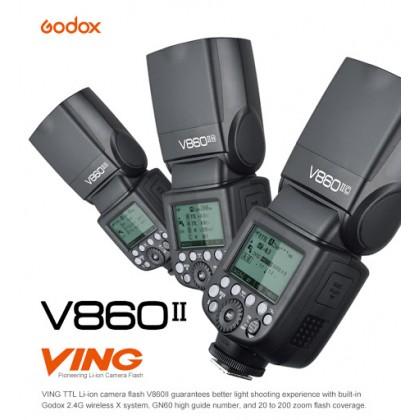 Godox V860II HSS TTL 2.4G Wireless System Speedlite