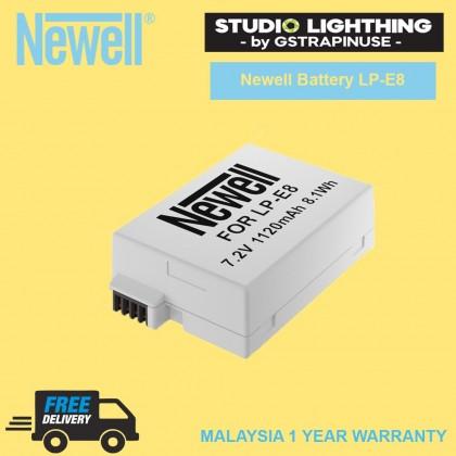 Newell Battery LP-E8 Camera Battery for Canon EOS 550D 600D 650D 700D