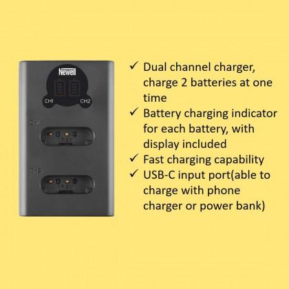 Newell Battery NP-BX1 For Sony DSC-H400, HX300, HX400V, HX50V, HX60