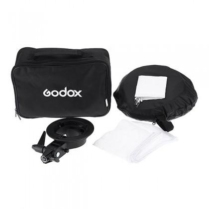 GODOX 40 X 40CM EASY FOLD SPEEDLITE SOFTBOX WITH S TYPE BRACKET