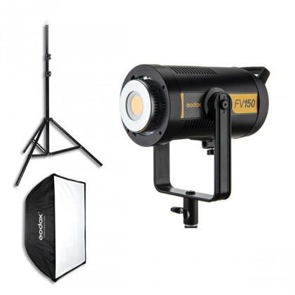 Godox FV150 150W Single Light Kit High Speed Sync Flash and CRI95+ Continuous LED