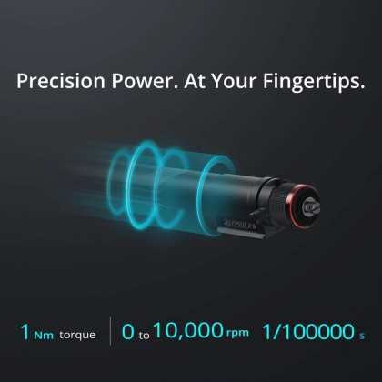 MOZA Slypod-E Motorized Camera Slider & Monopod Reinvent Motion Slider Accurate Position & Speed Control