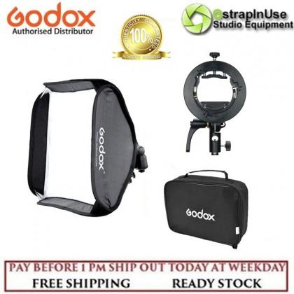 GODOX 80 X 80CM EASY FOLD SPEEDLITE SOFTBOX WITH S2 BRACKET