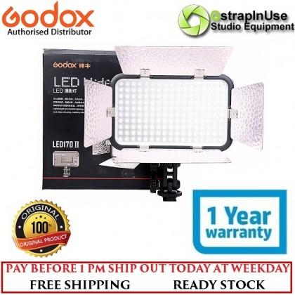 Godox LED170CII Daylight-Balanced 10W On-Camera LED Light