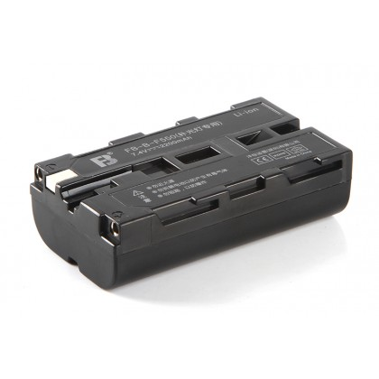 FB NP-F550 DIGITAL LI-ION BATTERY FOR SONY CAMCORDER & LED LIGHT