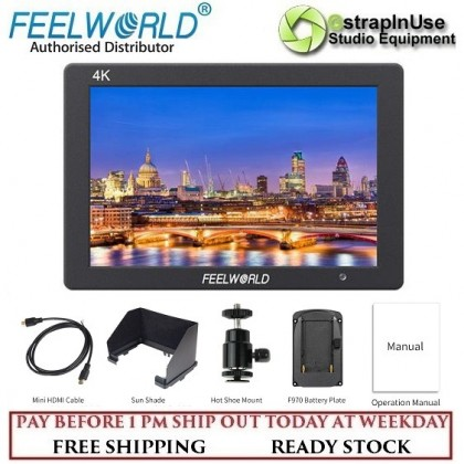 """FEELWORLD T7 7"""" 4K On-camera Monitor with Rugged Aluminum Housing"""