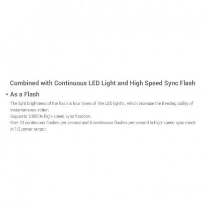 GODOX FV200 200W SINGLE LIGHT KIT HIGH SPEED SYNC FLASH AND CRI95+ CONTINUOUS LED