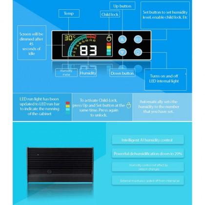 NABOXSUN DIGITAL FULL AUTO 100 LITER (100L) DRY CABINET BOX ( LATEST VERSION )