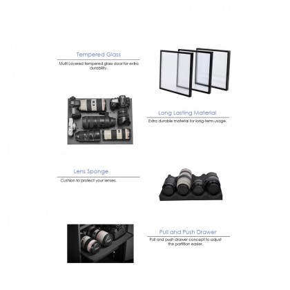 NABOXSUN DIGITAL FULL AUTO 185 LITER (185L) DRY CABINET BOX