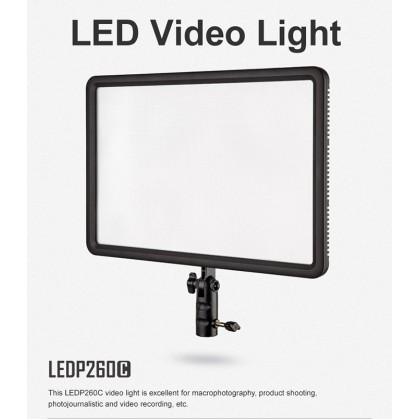 Godox LEDP260C Bi-Color LED Light Panel SOFT LED VIDEO LIGHT