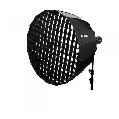 Nicefoto Deep Parabolic Softbox Easy Fold With Grid 70cm (Bowens Mount)