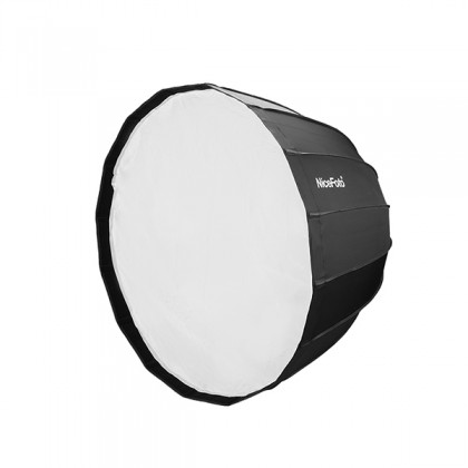 Nicefoto Deep Parabolic Softbox Easy Fold With Grid 120cm (Bowens Mount)