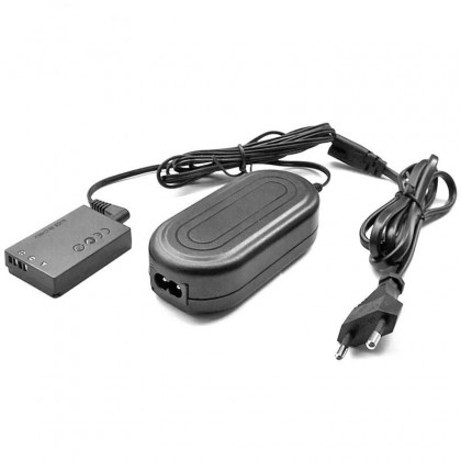AC Power Adapter Kit for Canon EOS-M EOS M M2 M10 M50 Camera (ACK-E12 + LP-E12 Dummy)