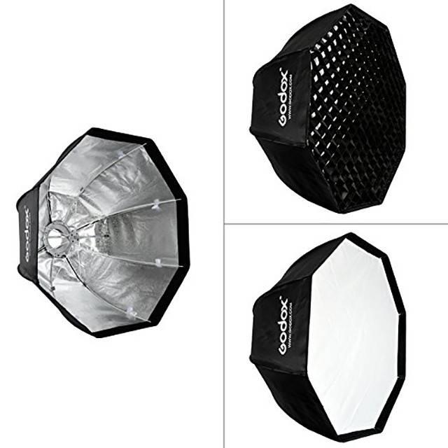 GODOX 95cm Oct/ágono Rejilla Softbox Bowens Mount para Fotograf/ía Studio Flash LED Iluminaci/ón SB-FW95CM