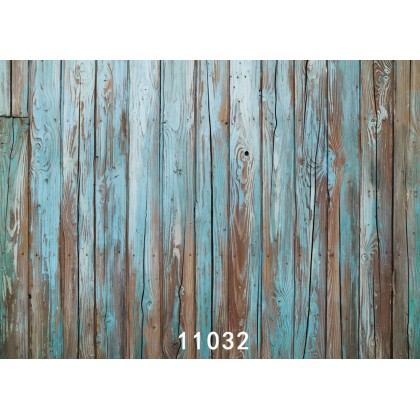 2m x 1.5m Old Wooden Wall Type 6 Digital Backdrop 11032 for Photography