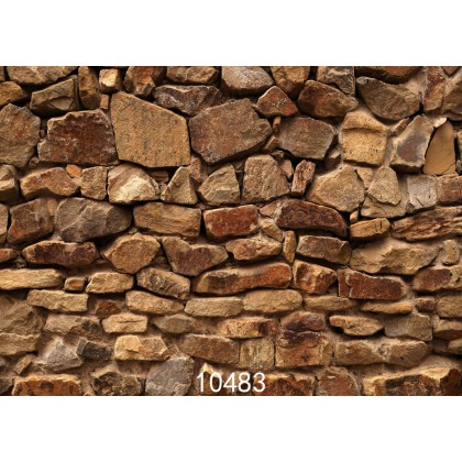 2m x 1.5m Stone Wall Type 1 Digital Backdrop 10483 for Photography