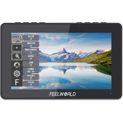 "FEELWORLD F5 PRO 4K Touchable Screen Monitor 5.5"" Field HDMI Video Monitor for DSLR Gimbal Power Wireless Transmitter&LED"