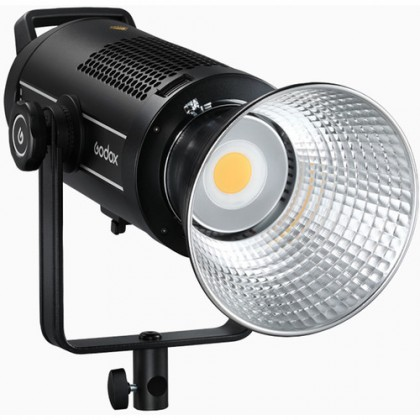 GODOX SL200W II 200W 2 Light Kit Bowens Mount Daylight Balanced Led Video Light, 74000lux@1m, CRI96+ TLCI97+,8 Pre-Programmed Lighting Effects, Ultra Silent Fan
