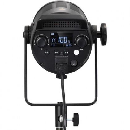 GODOX SL150W II 150W 2 Light Kit Bowens Mount Daylight Balanced Led Video Light, 58000lux@1m, CRI96+ TLCI97+, 8 Pre-Programmed Lighting Effects, Ultra Silent Fan