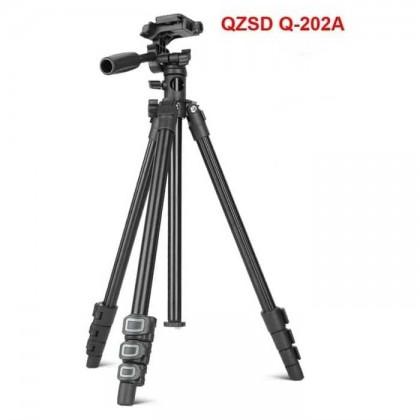 BEIKE QZSD Q202A FlatLay Tripod Transverse Center Column
