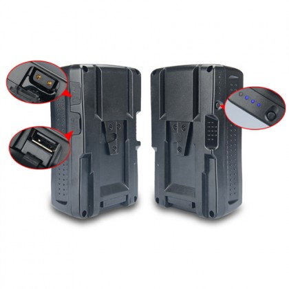 KingMa BP-150WS 150Wh Rechargeable V-Lock V Mount Battery for Sony Video Cameras Camcorders LED Light