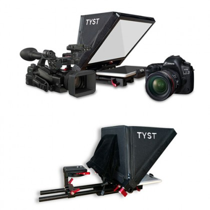 TYST Video TS-310 new tablet teleprompter portable small ipad speech conference teleprompter 12 inch portable flat teleprompter (standard)