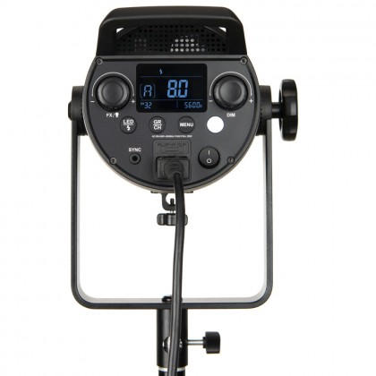 Godox FV150 + 2.6m Air Cushioned Stand High Speed Sync Flash LED Light with Built-in 2.4G Wireless Receiver + Remote Control