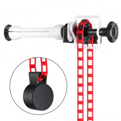 Single Roller Wall Mounting Manual Chain Background Support System