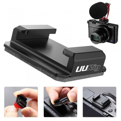 UURig R046 Hot Shoe Plate Mount Bracket Mount Base Expansion Fill Light Mic Interface Stand for DSLR Camera Video Accessories